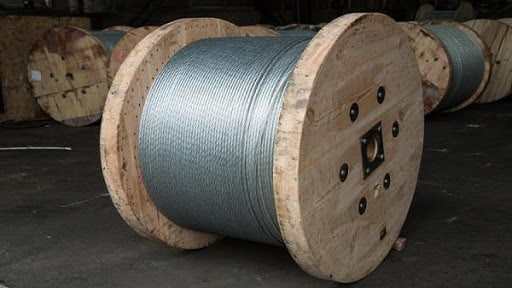 galvanized steel stranded earth wire - Nirmal Group